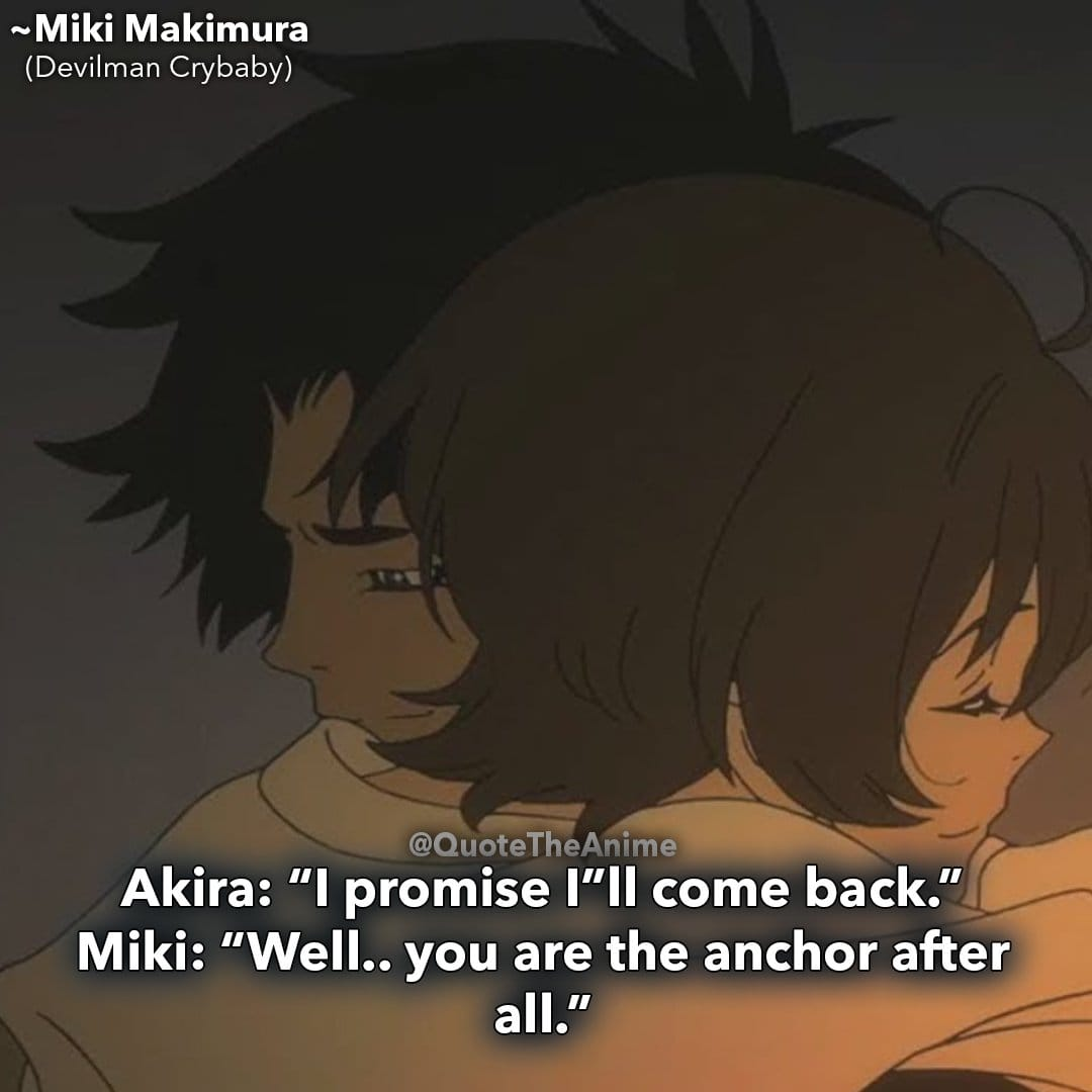 9+ Heartbreaking Devilman Crybaby Quotes (HQ Images)   QTA