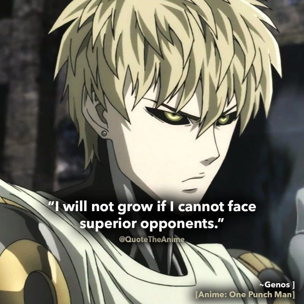 13+ NEW One Punch Man Quotes Season 2 (2019) | QTA