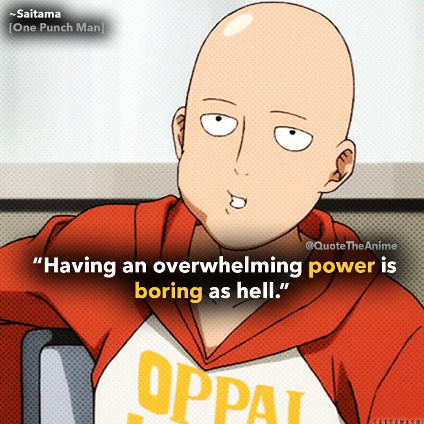 one-punch-man-saitama-quotes-having power is boring