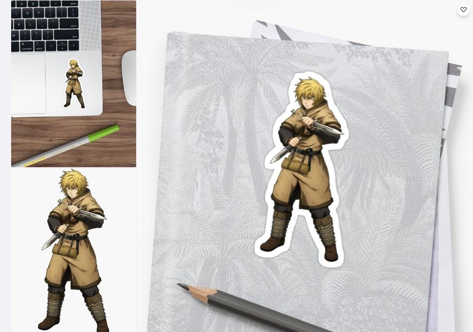 Vinland Saga - Thorfinn Sticker