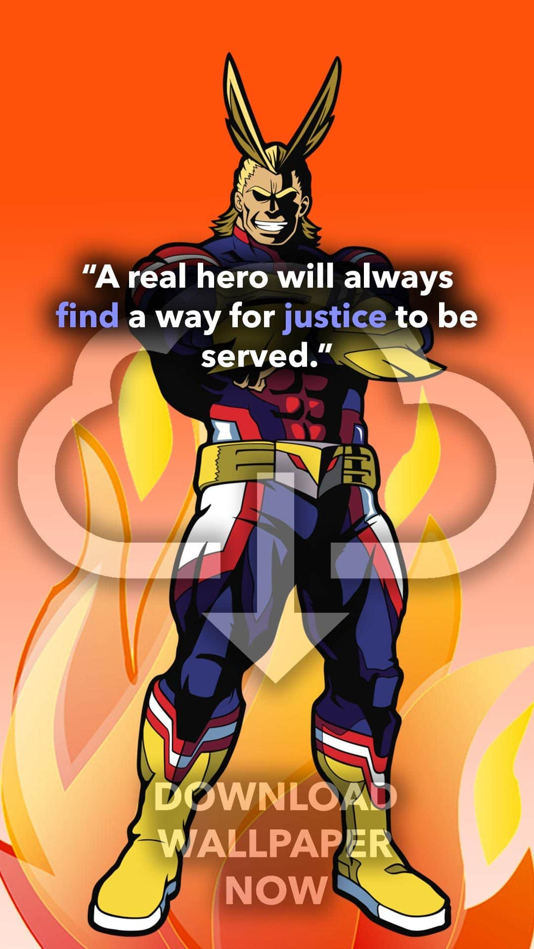 13 Powerful All Might Quotes My Hero Academia Images