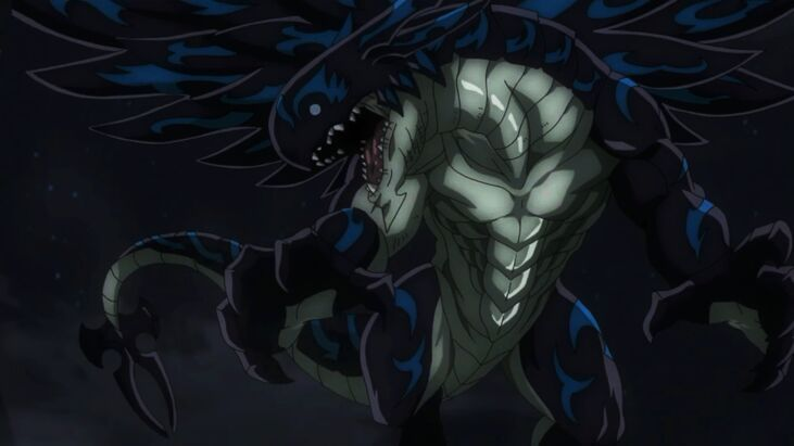 Acnologia strongest fairy tail character