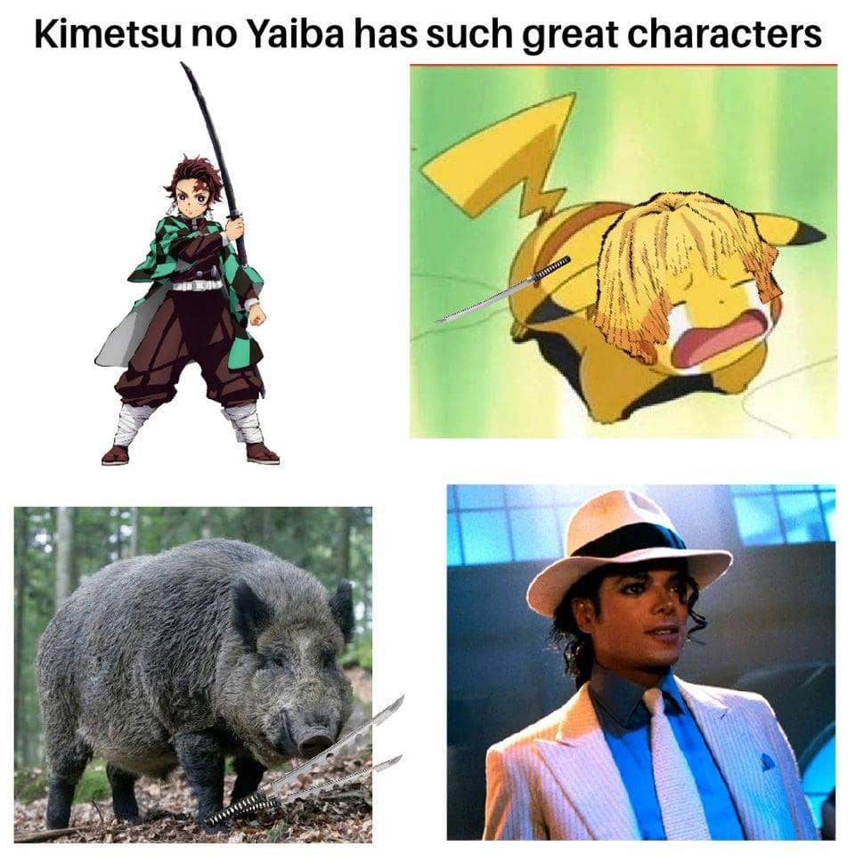 Anime Meme. Demon slayer FUNNY - Kimetsu no yaiba has great characters