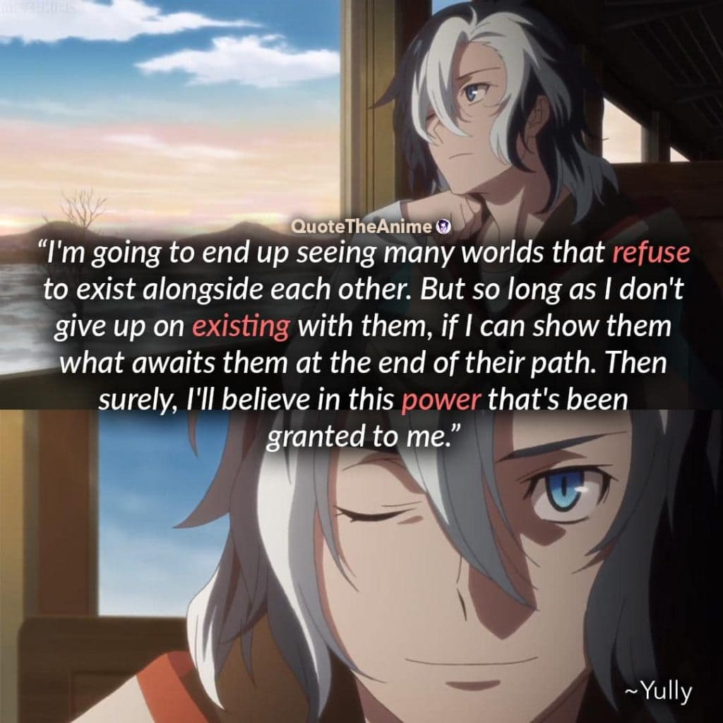 Sirius the Jaeger Quotes. Yully quotes. I can show them what awaits them at the end of their path.