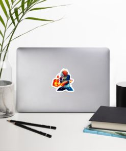 Shoto Todoroki Sticker - Become the Hero you want to be on notebook zoom