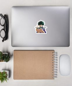 Deku Sticker I want to be strong enough that no one will worry about me art