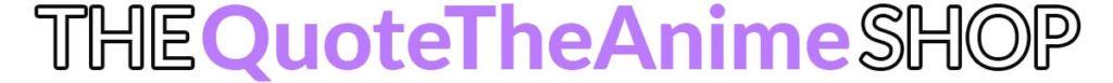 quotetheanime shop logo