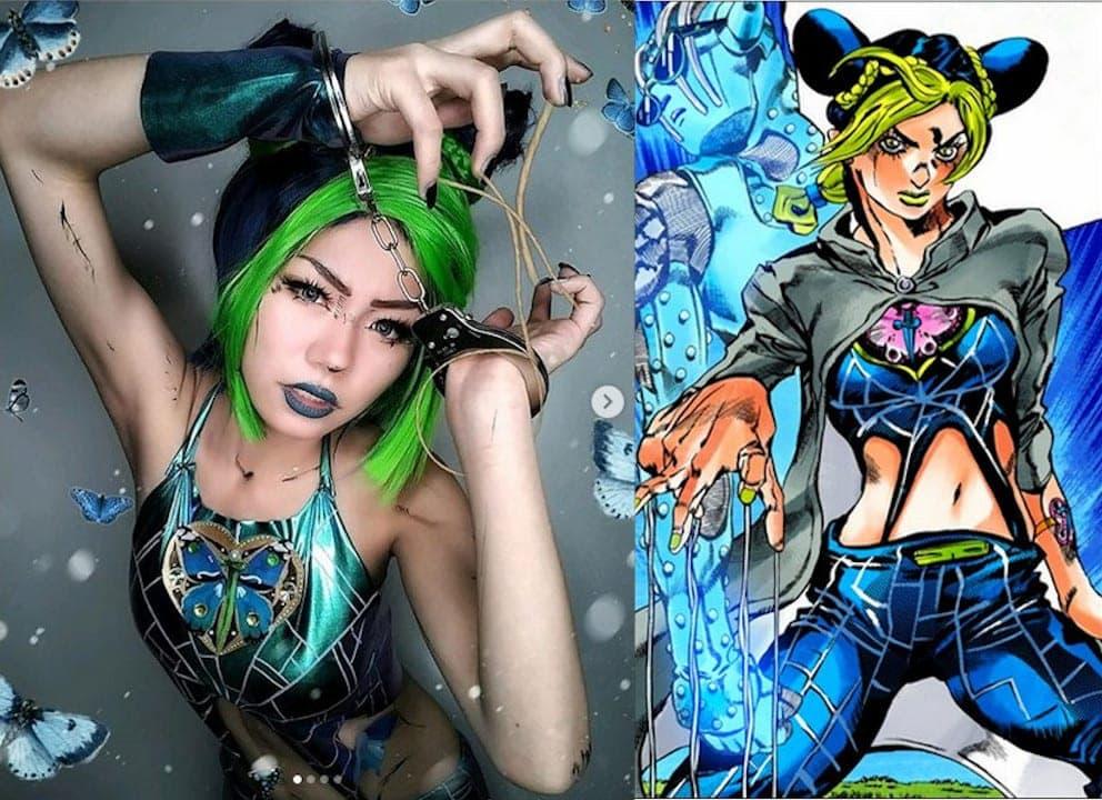 Jolyne Kujo cosplay
