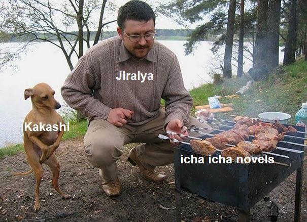 jiraya kakashi and icha icha novels