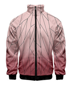 demon slayer hoodie shinobu pink