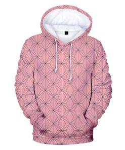 demon slayer hoodie Nezuko pink