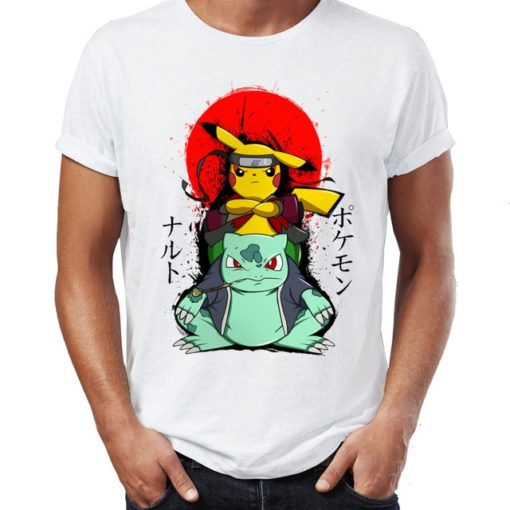 pikachu sage naruto and bulbasaur and gamabuntam