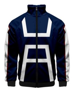 UA Uniform Jacket Front zipper zip-up