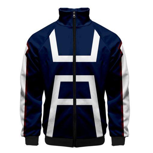 UA Uniform Jacket Front zipper zip-up