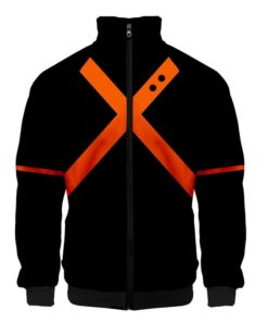 Bakugou Jacket zipper zip-up
