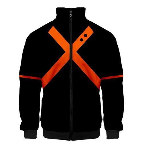 Bakugou Jacket zipper zip-up