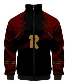 Red Riot Jacket zipper zip-up