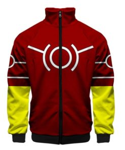 Anime Koji Jacket zipper zip-up