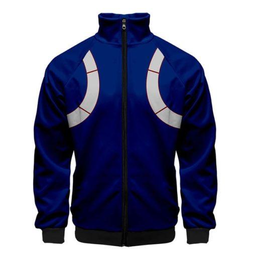 Shoto Todoroki Jacket zipper zip-up