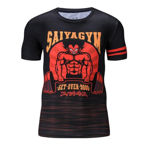 Vegeta 9000 Summer Workout Dragon Ball T-shirt