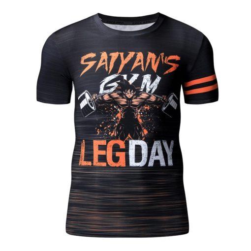 Goku Summer Workout Dragon Ball T-shirt