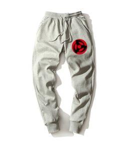 magenkyo sharingan grey pants naruto Shinobi-Sweatpants