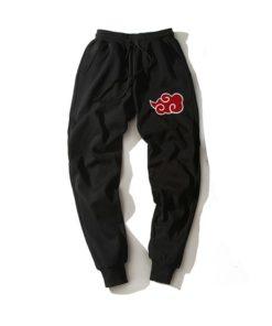 akatsuki black naruto Shinobi-Sweatpants